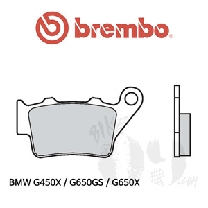 BMW G450X / G650GS / G650X / 리어용 브레이크 패드 브렘보 로드