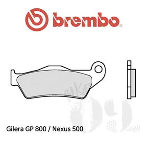 Gilera GP 800 / Nexus 500 / 브레이크 패드 브렘보 신터드
