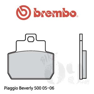 Piaggio Beverly 500 05-06 브레이크패드 브렘보