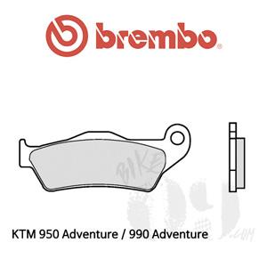 KTM 950 Adventure / 990 Adventure / 브레이크패드 브렘보 신터드