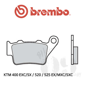 KTM 400 EXC/SX / 520 / 525 EX/MXC/SXC / 브레이크패드 브렘보