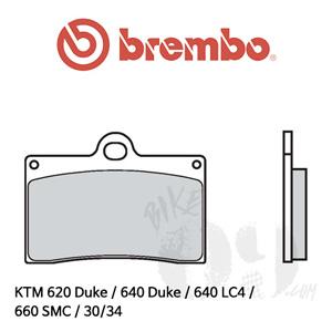 KTM 620 Duke / 640 Duke / 640 LC4 / 660 SMC / 30/34 캘리퍼용 브레이크패드 브렘보