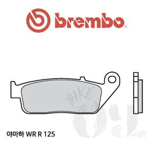 야마하 WR R 125 / 브레이크패드 브렘보 신터드 스트리트