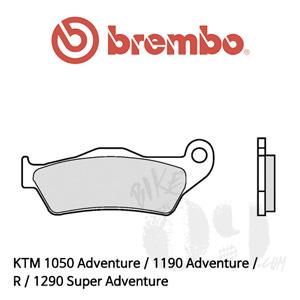 KTM 1050 Adventure / 1190 Adventure / R / 1290 Super Adventure / 브레이크패드 브렘보 신터드 07BB04SX