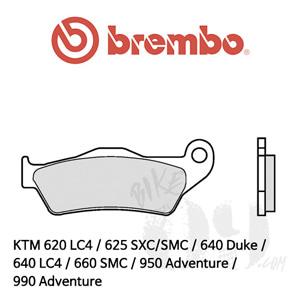 KTM 620 LC4 / 625 SXC/SMC / 640 Duke / 640 LC4 / 660 SMC / 950 Adventure / 990 Adventure / 브레이크패드 브렘보 신터드