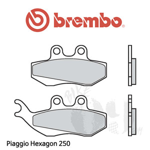 Piaggio Hexagon 250 브레이크패드 브렘보