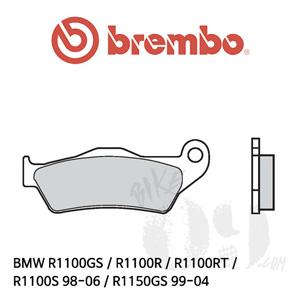 BMW R1100GS / R1100R / R1100RT / R1100S 98-06 / R1150GS 99-04 / 리어용 브레이크패드 브렘보 신터드 스트리트