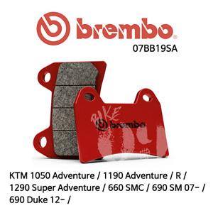 KTM 1050 Adventure / 1190 Adventure / R / 1290 Super Adventure / 660 SMC / 690 Duke 12- / 690 SM 07- / 브레이크패드 브렘보 신터드 스트리트