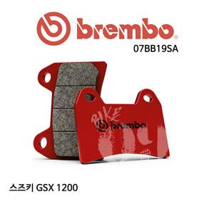 스즈키 GSX 1200 / 브레이크패드 브렘보 신터드 스트리트