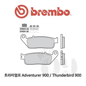 트라이엄프 Adventurer 900 / Thunderbird 900 / 브레이크패드 브렘보 신터드 스트리트