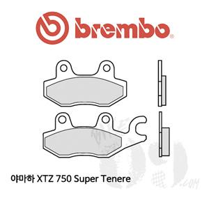 야마하 XTZ 750 Super Tenere 리어용 브레이크패드 브렘보 신터드 스트리트