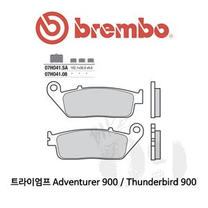 트라이엄프 Adventurer 900 / Thunderbird 900 / 브레이크패드 브렘보 신터드 스트리트 07HO41SA