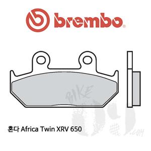혼다 Africa Twin XRV 650 브레이크패드 브렘보 신터드 스트리트