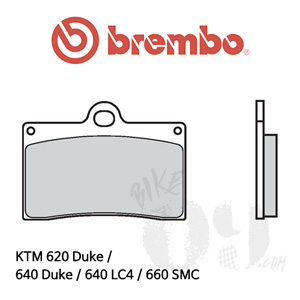 KTM 620 Duke / 640 Duke / 640 LC4 / 660 SMC / 브레이크패드 브렘보 신터드 스트리트 07BB15LA