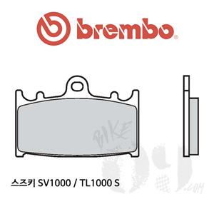 스즈키 SV1000 / TL1000 S / 브레이크패드 브렘보 신터드 레이싱