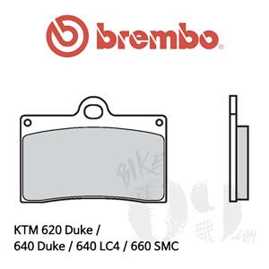 KTM 620 Duke / 640 Duke / 640 LC4 / 660 SMC / 브레이크패드 브렘보 신터드 레이싱