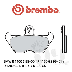BMW R 1100 S 98-00 / R 1150 GS 99-01 / R 1200 C / R 850 C / R 850 GS / 브레이크패드 브렘보 신터드 스트리트