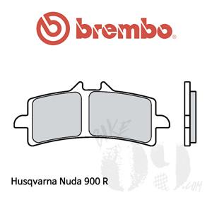 Husqvarna Nuda 900 R 브레이크패드 브렘보 신터드 스트리트