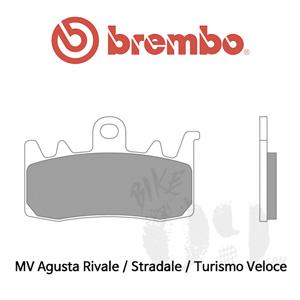 MV Agusta Rivale / Stradale / Turismo Veloce / 브레이크패드 브렘보 신터드 레이싱