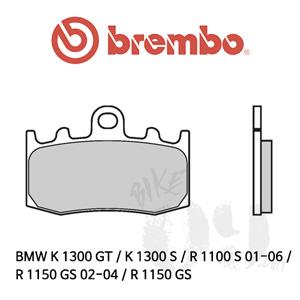 BMW K 1300 GT / K 1300 S / R 1100 S 01-06 / R 1150 GS 02-04 / R 1150 GS / 브레이크패드 브렘보 신터드 레이싱
