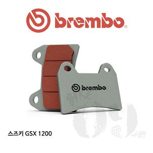 스즈키 GSX 1200 브레이크패드 브렘보 신터드 레이싱