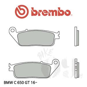 BMW C650GT 16- 브레이크패드 브렘보