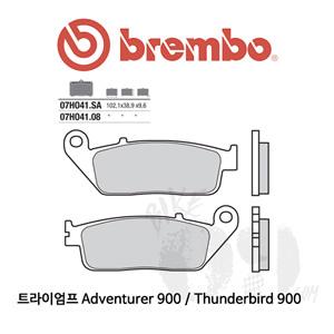 트라이엄프 Adventurer 900 / Thunderbird 900 / 브레이크패드 브렘보 신터드 레이싱