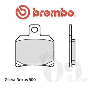 Gilera Nexus 500 리어용 브레이크패드 브렘보 신터드 스트리트 07BB2065
