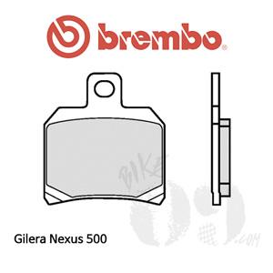 Gilera Nexus 500 리어용 브레이크패드 브렘보 신터드 스트리트