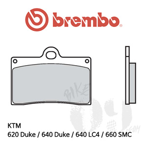 KTM 620 Duke / 640 Duke / 640 LC4 / 660 SMC / 브레이크패드 브렘보