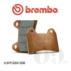 스즈키 GSX1200 브레이크패드 브렘보 신터드