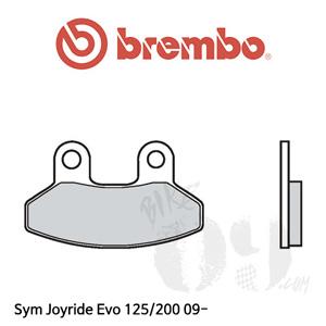 Sym Joyride Evo 125/200 09- 브레이크패드 브렘보