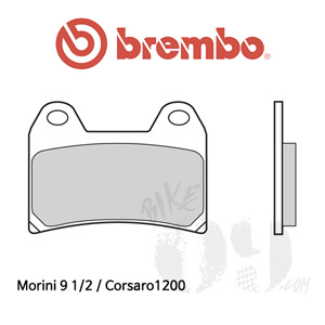 Morini 9 1/2 / Corsaro1200 브레이크패드 브렘보 레이싱
