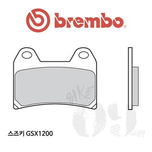 스즈키 GSX1200 브레이크패드 브렘보 레이싱
