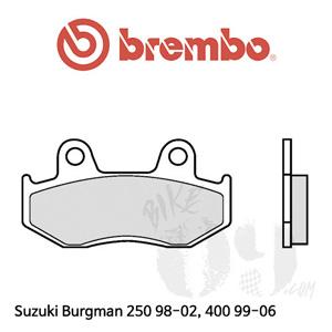 Suzuki Burgman 250 98-02, 400 99-06 프론트 리어 겸용 브렘보 브레이크패드