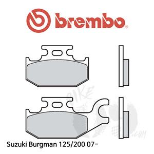 Suzuki Burgman 125/200 07- 리어 브렘보 브레이크패드