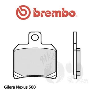 Gilera Nexus 500 브레이크 패드 브렘보