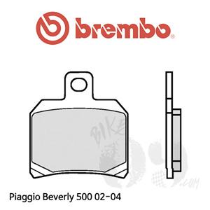 Piaggio Beverly 500 02-04 브레이크 패드 브렘보