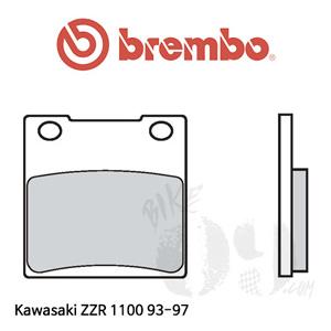 가와사키 ZZR1100 93-97 브레이크 패드 브렘보 리어