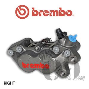 브렘보 P4-30/34 캘리퍼 티탄색상 프론트 우측 40mm 마운트 07BB1535
