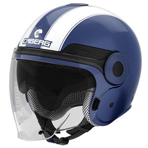 카베르그 헬멧 Caberg Uptown Legend Jet Helmet (Blue/White)