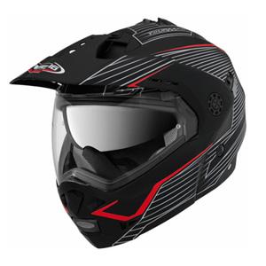 카베르그 헬멧 Caberg Tourmax Sonic Enduro Flip-Up Helmet (Black Matt)