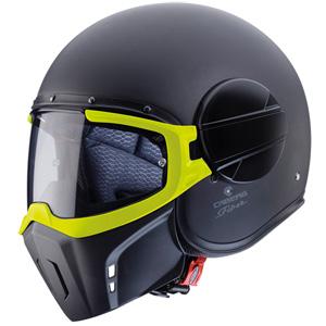 카베르그 헬멧 Caberg Ghost Helmet (Black Matt/Yellow)