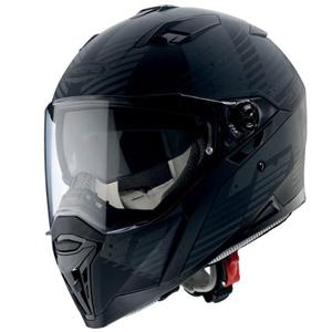 카베르그 헬멧 Caberg Stunt Blizzard Helmet (Black Matt/Grey)