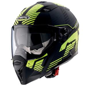 카베르그 헬멧 Caberg Stunt Blizzard Helmet (Black Matt/Yellow)