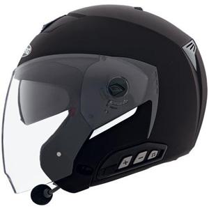 카베르그 헬멧 Caberg Jet Sintesi Jet Helmet (Black)