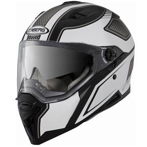 카베르그 헬멧 Caberg Stunt Blade Helmet (Black Matt/White)