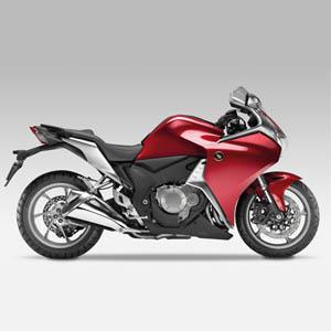 Honda VFR1200F/2010-/Rear Hugger 오토바이 카본