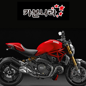Ducati Monster1200S Rear Hugger 오토바이 카본