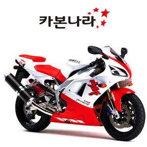 Yamaha R1 99-01  Rear Hugger 오토바이 카본